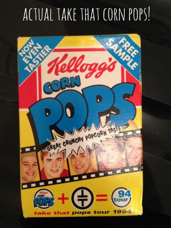 Kellogg's Corn Pops - Take That promo packet