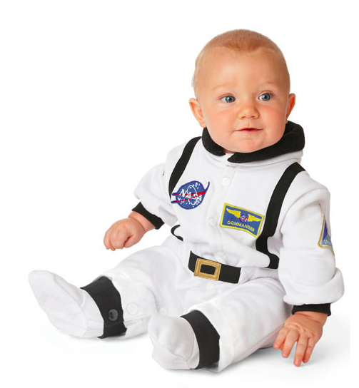 Dress your baby as an astronaught!
