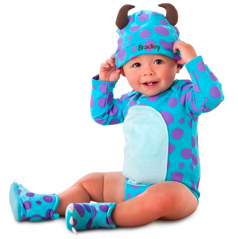 Sulley from Monsters Inc babygro