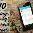 10 Things Every Parent Will Tweet