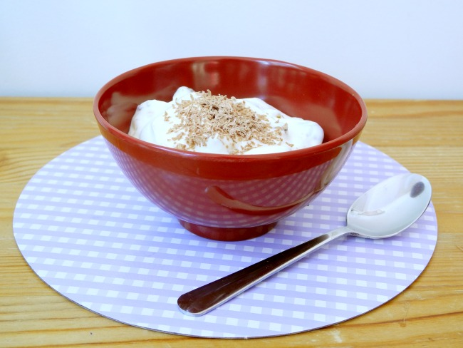 Yogurt based pudding - so easy to make!