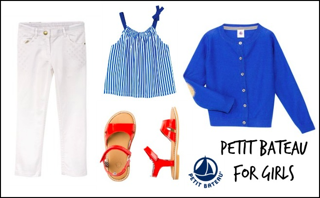 Fab outfits for girls from Petit Bateau