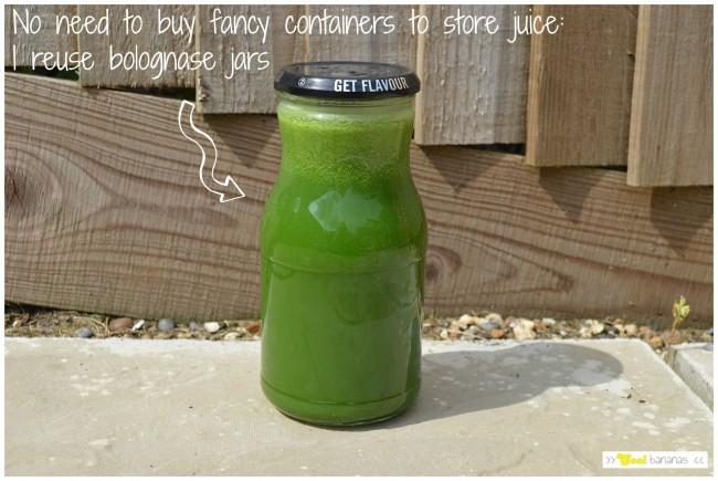 Juice storage idea!