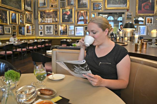 Breakfast at Berners Tavern