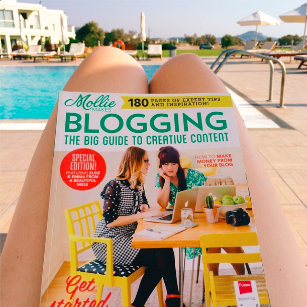 Mollie-Makes-Blogging-magazine