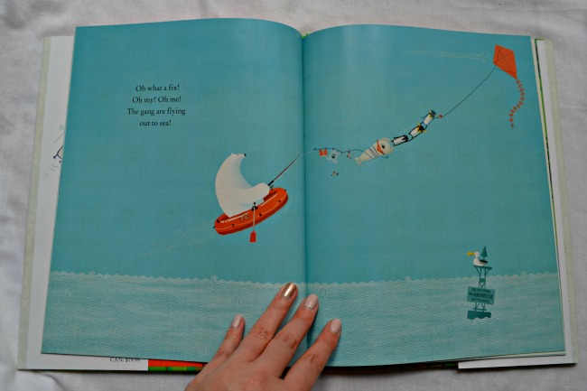Blown Away - awesome kids book by Rob Biddulph