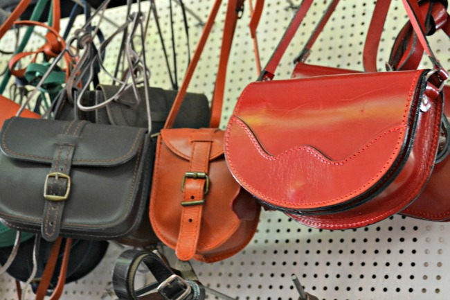 Gorgeous leather bags