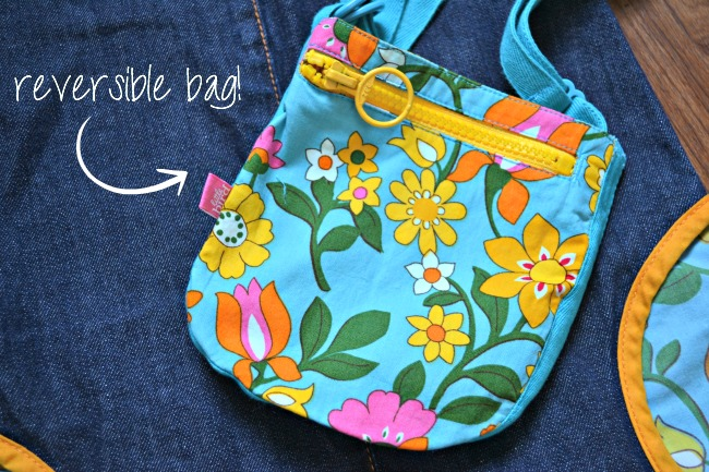 Cute reversible bag for girls from Little Bird by Jools