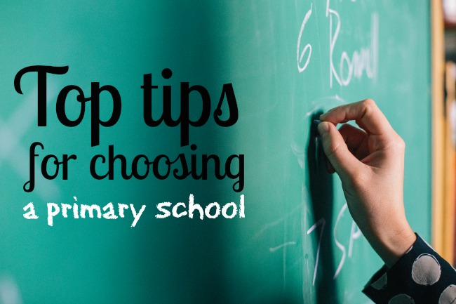 Top tips for choosing a primary school
