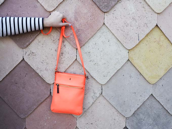 Orange Joules bag