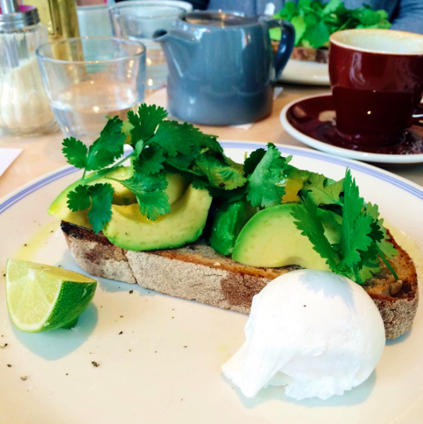 Grangers & Co avocado on toast