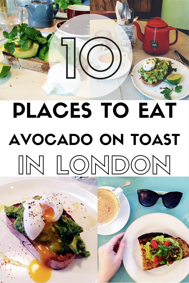 As someone who has a slight avocado obsession, I thought it was time to share my favourite London restaurants and cafes for avo on toast...