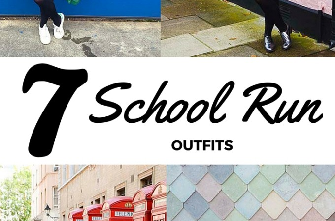 Outfits that are comfortable yet smart for the school run, including some that are perfect for dashing off to work or meetings afterwards!