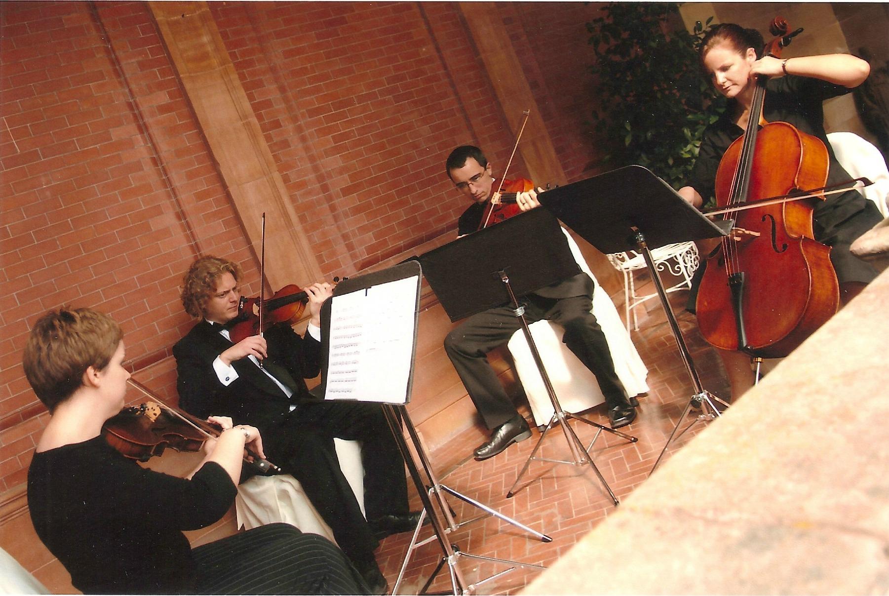 1-string quartet wedding