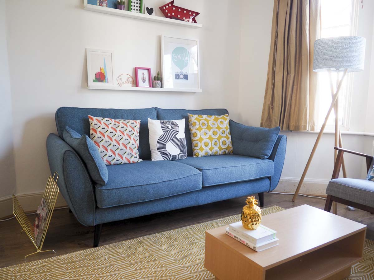 Teal Living Room Furniture The Living Room Makeover Challenge With Dfs Not Another Mummy Blog