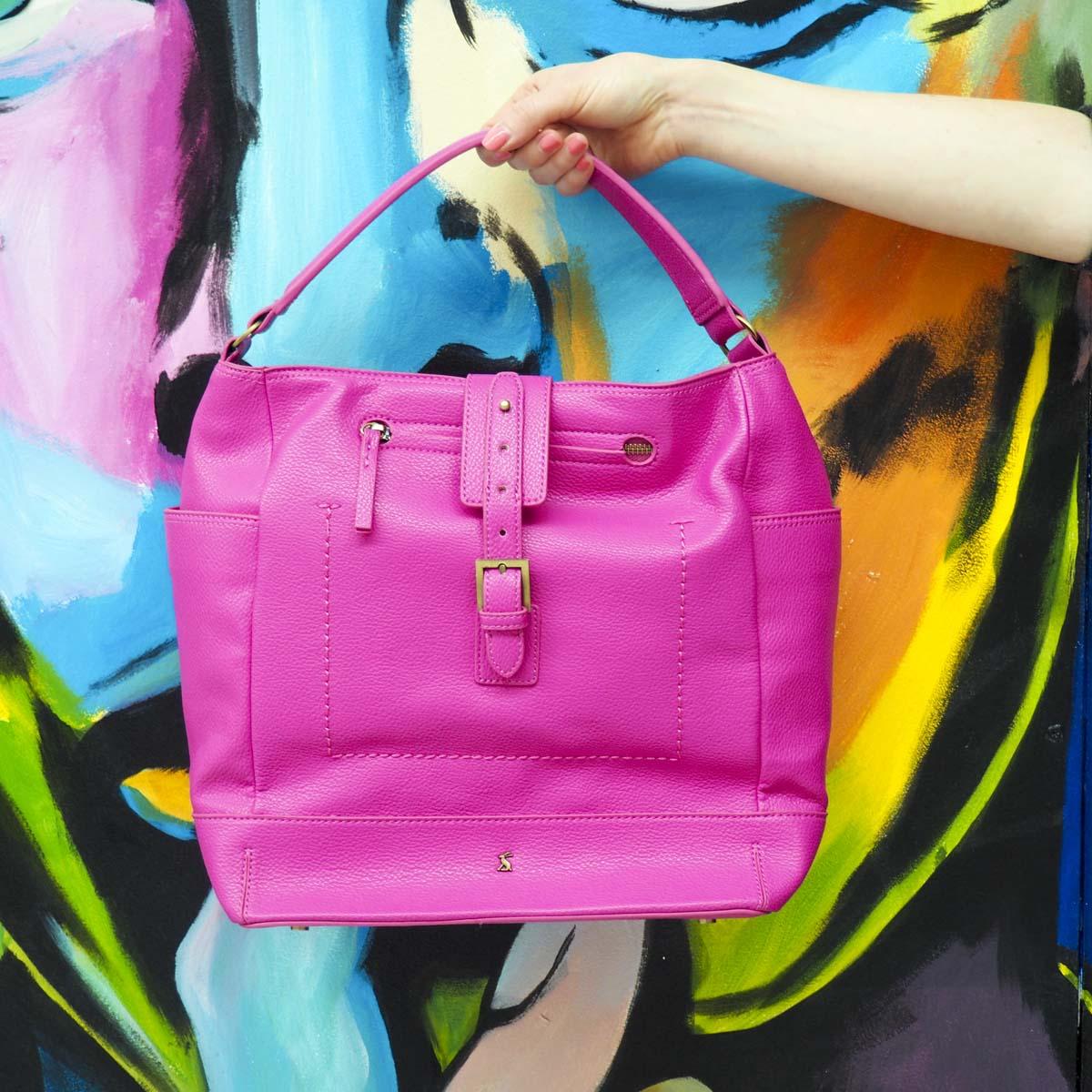Pink Joules bag