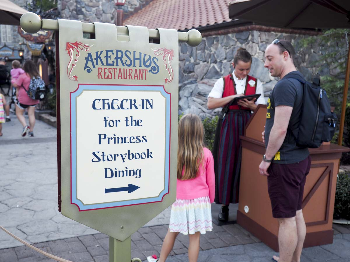 Akershus restaurant, princess breakfast, Epcot Disney World