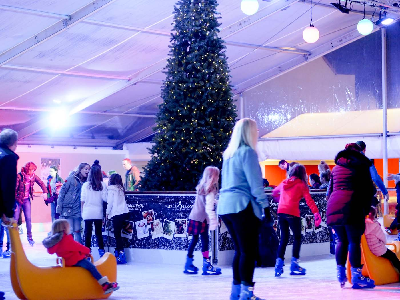 Ruxley Manor ice rink