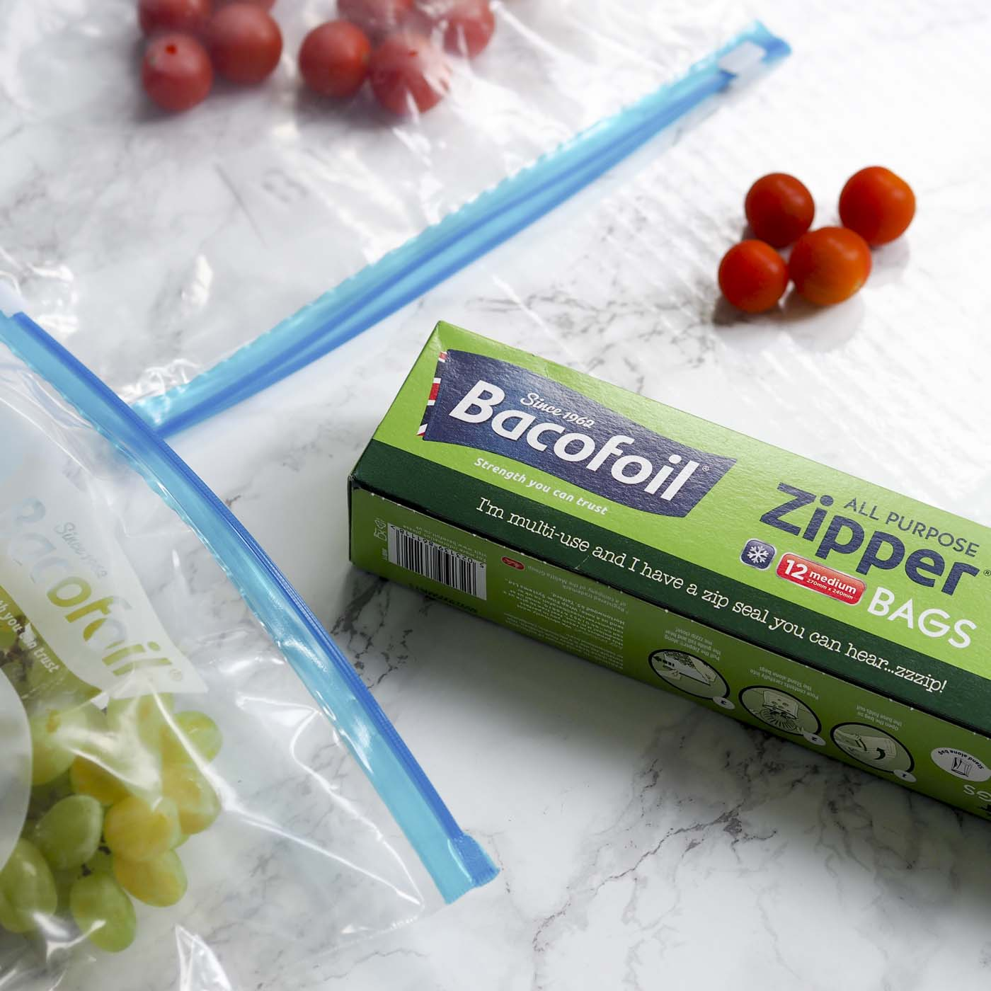 5 ways to use bacofoil all purpose zipper bags in family. Black Bedroom Furniture Sets. Home Design Ideas