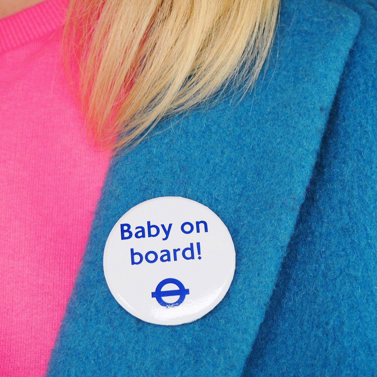 Baby on board badge TFL